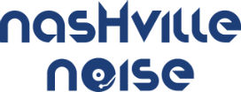 Nashville Noise logo in blue