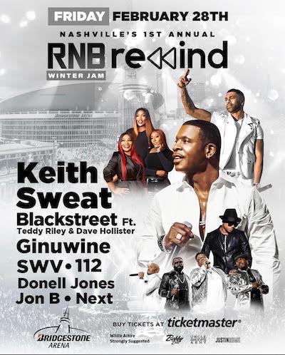 RnB Rewind Winter Jam Bridgestone